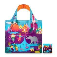 ขาย Loqi Shopping Bags Urban Thailand กระเป๋าผ้า รุ่น เออร์เบิน ไทยแลนด์ ใบใหญ่ 1 ใบ ใบเล็ก 1 ใบ Thailand