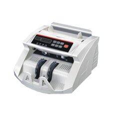 ราคา Lotte Bill Counter 2In1 เครื่องนับเงิน ตรวจแบ๊งค์ปลอม พร้อมจอแยก สะดวกแม่นยำ Silver Lotte