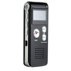 โปรโมชั่น Lotte เครื่องอัดเสียง Usb Voice Recorder 8Gb ชนิด จอ Lcd กว้างมองชัด Black ไทย