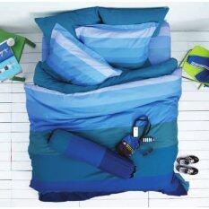 ราคา Lotus Impression ชุดผ้าปูที่นอน รุ่น Stripes ลาย Sd09B Thailand