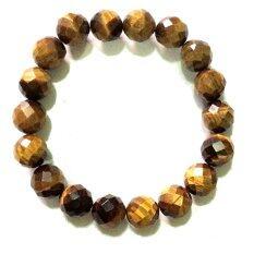 ซื้อ Lucky Gifts สร้อยข้อมือยางยืด หินพลอยตาเสือ ขนาด 10 มิล Yellow ใน ไทย