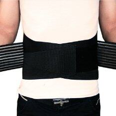 ขาย Lumbar Waist Support Size S M Black