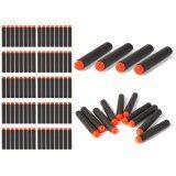 ทบทวน ที่สุด ลูกปืนของเล่น 100Pcs 7 2Cm Eva Refill Bullet Darts Black สำหรับ Nerf N Strike Elite Series Blasters Kid Game Toy Gun