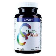 โปรโมชั่น Lynae Multi Multi Vitamin Usa ไลเน่ มิลติวิตามินรวม ป้องกันการขาดวิตามินและเกลือแร่ 100 เม็ด 1 ขวด