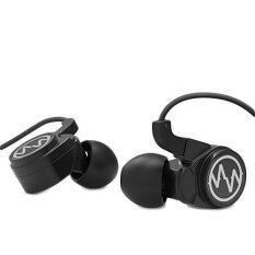 Macaw หูฟังระบบ inverted dynamic รุ่น GT100S (สีดำ)