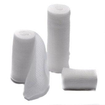 MAK Stretch Bandage Conform 4\ ผ้ายืดพันแผล ผ้าก๊อซยืด ขนาด 4 นิ้ว (แพ็ค12 ม้วน)