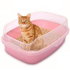 ทบทวน Makar กะบะทรายแมว จัมโบ้ Ag 46 62 Cm สีชมพู