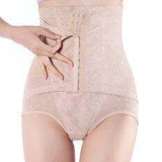 ซื้อ Mamauyshop กางเกงเก็บหน้าท้อง ตะข้อหน้า สีเนื้อ ไทย