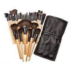 ซื้อ Marino แปรงแต่งหน้าด้ามไม้ 32 ชิ้น A0132 พร้อมกระเป๋าหนังสีดำ ใหม่ล่าสุด