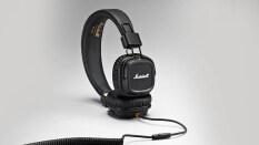 Marshall Major II หูฟัง on-ear เสียงเบส ฟังสบาย ระดับคุณภาพ (สีดำ)