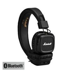 Marshall Major2 Bluetooth หูฟังครอบหู Onear แบรนดัง ไร้สาย บลูทูธ เบสแน่นฟังสนุก ประกันศูนย์ไทย - Black