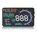 ราคา Mastersat A8 5 5 Car Hud Head Up Display Obd Ii 2 Fuel Consumption Speed Warning System ใหม่