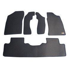 ราคา Matpro พรมปูพื้นเข้ารูป 100 ลายกระดุม ชุด Standard Set 5 ชิ้น All New Navara Cab 2014 2015 สีดำ Matpro