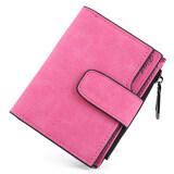 ขาย Matteo กระเป๋าเงิน กระเป๋าสตางค์ ผู้หญิง 3 ชั้น Friend สีชมพูเข้ม Matteo ใน ไทย