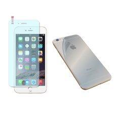 ราคา Maximum ชุด Set สุดคุ้ม ฟิล์มกันรอย แบบใส ฟิล์มกันรอย รอบตัว แบบด้าน Iphone 6 Plus ใหม่