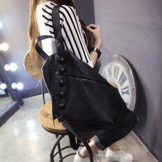 ราคา Maylin กระเป๋าเป้สะพายหลัง กระเป๋าเป้เกาหลี กระเป๋าเป้หนัง ผู้หญิง รุ่น Mp 068 สีดำ ที่สุด