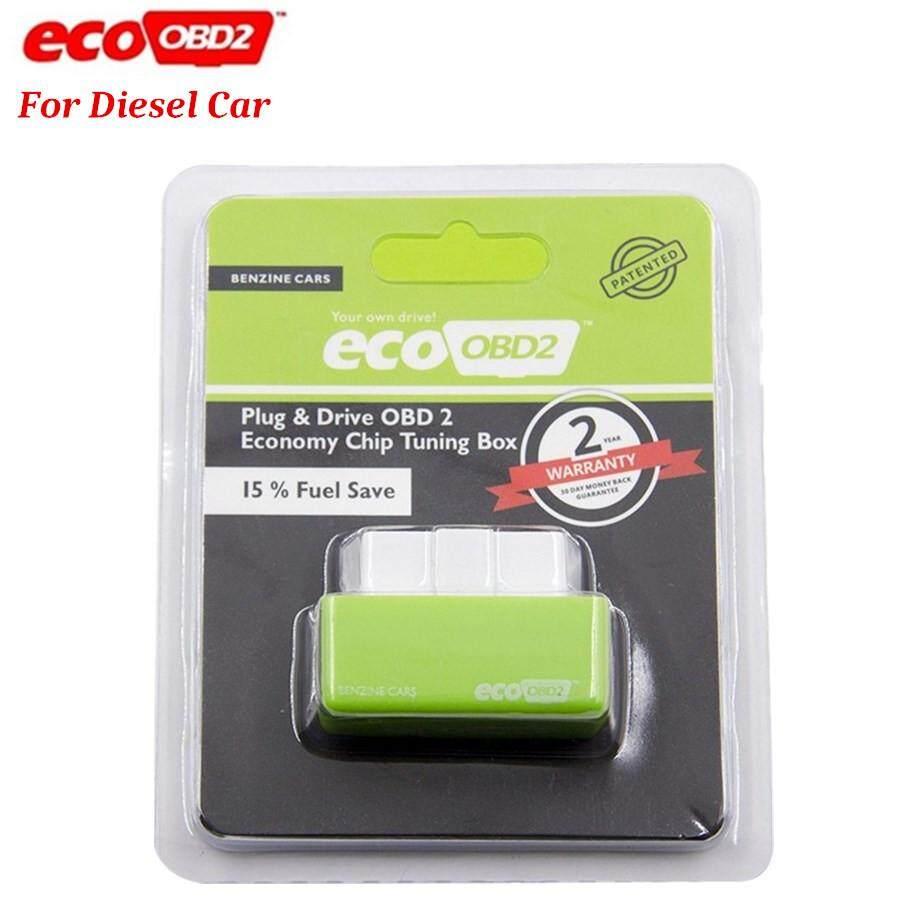 Plug&Driver NitroOBD2 Gas Fuel Power Saver ECO OBD2 ECU Chip Tuning Box for  Diesel Car