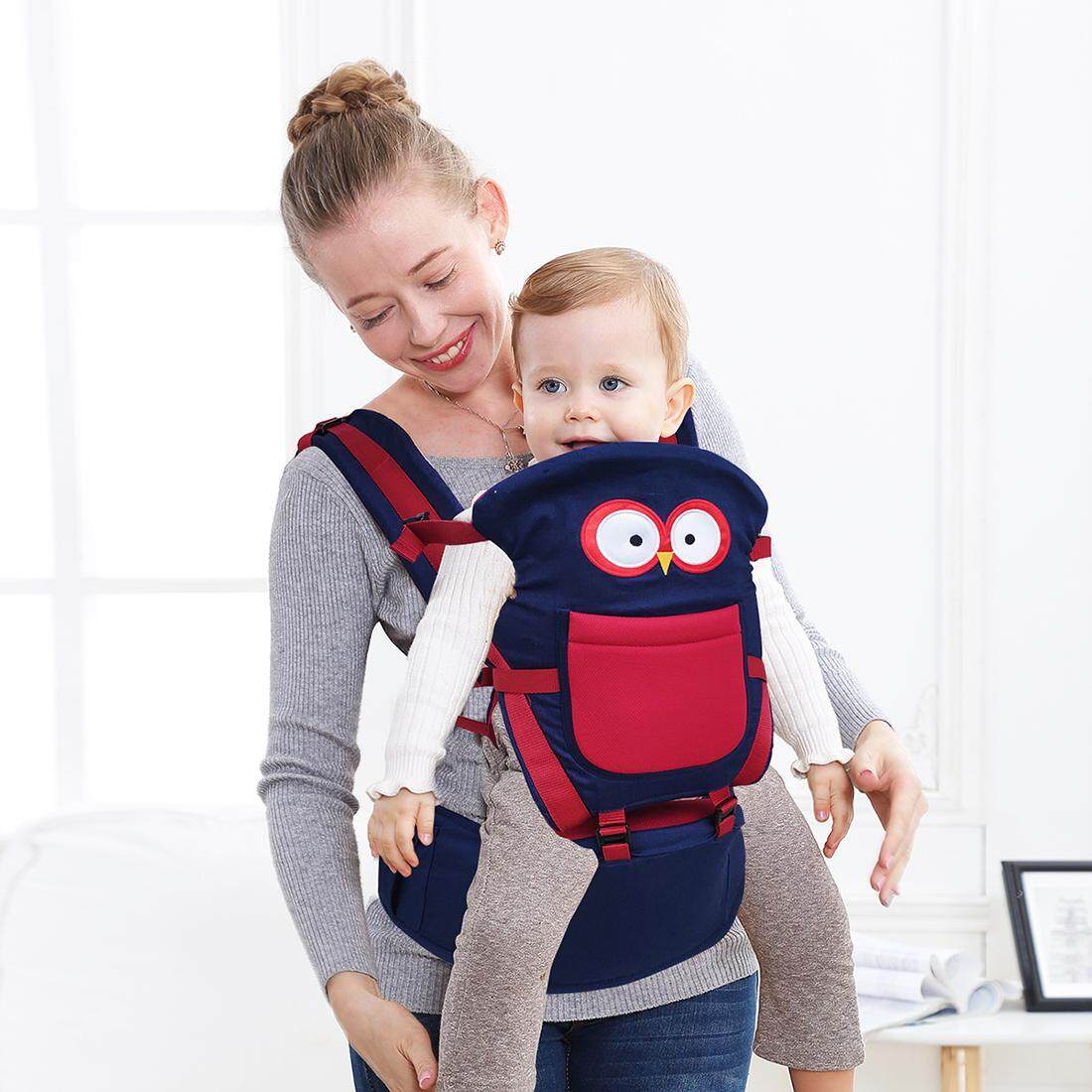 Kangaroo Soft Baby Carrier With Hip Seat Breathable Summer Hipseat Front Backpacks Portabebe Multifunction By Baby Bao.