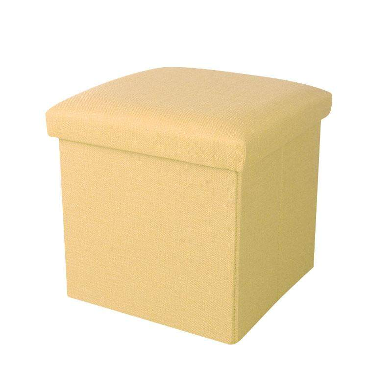 Cloth storage box Foldable storage stool Can sit adult multi-function square sofa change shoe stool