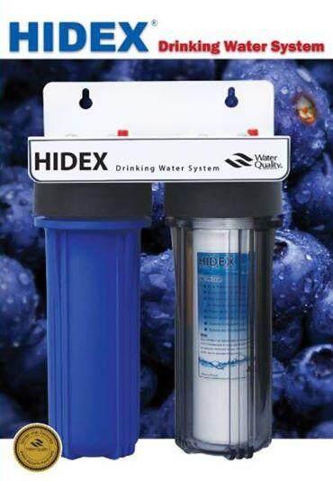 เครื่องกรองน้ำไฮเด๊กซ์ 2 ขั้นตอน Hidex Filter Housing 2 Stage By Hidex Water.