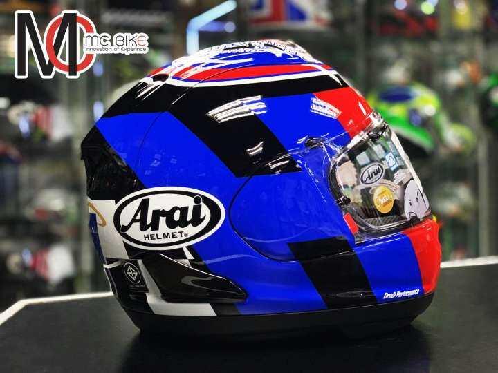 หมวกกันน็อค Arai RX-7V Leon Haslam