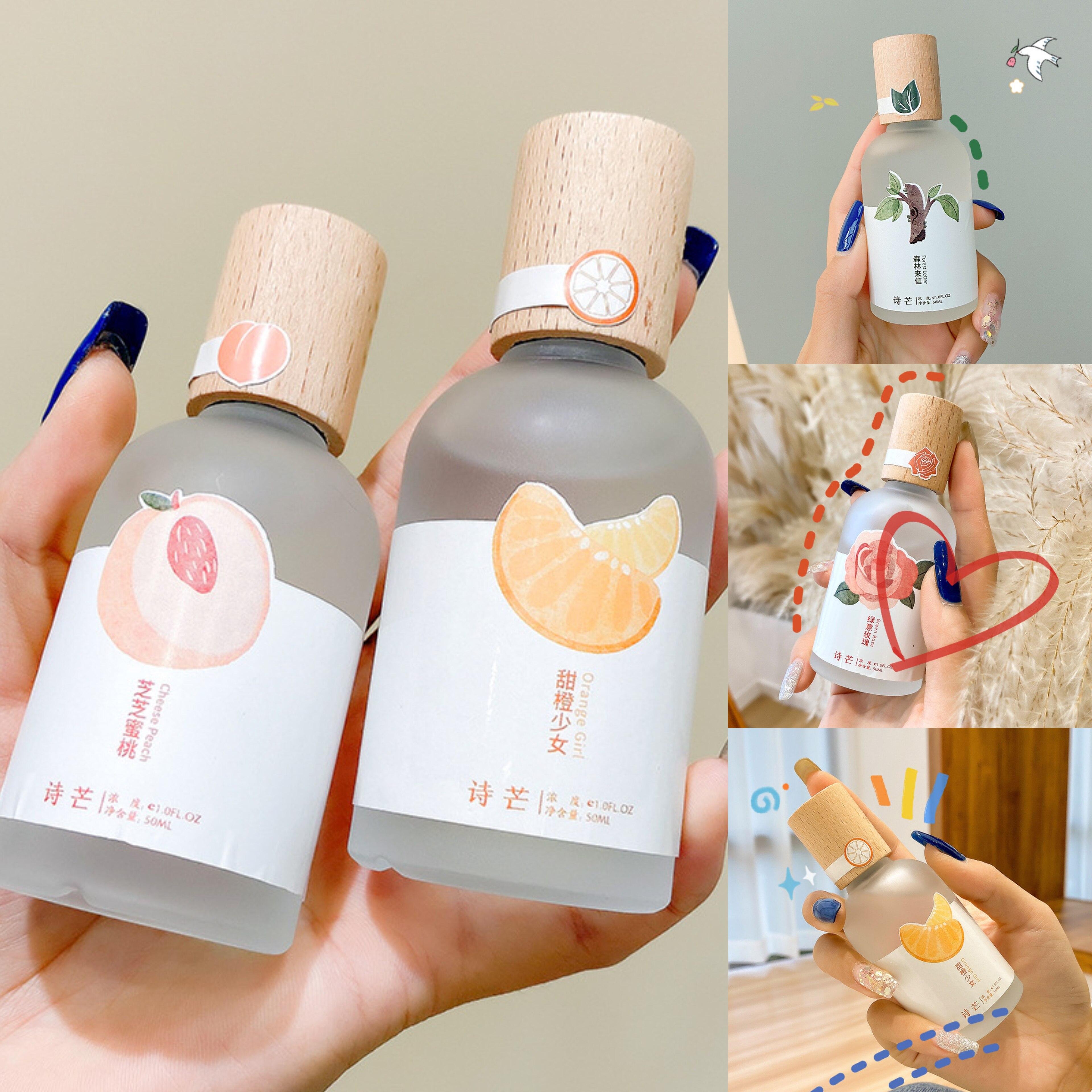 น้ำหอมผู้หญิง น้ำหอม Shi Mang 50ml กลิ่นหอมติดทนนาน นักเรียน น้ำหอมกลิ่นสดชื่นและเป็นธรรมชาติ สามารถใช้ได้ทั้งชายและหญิง.