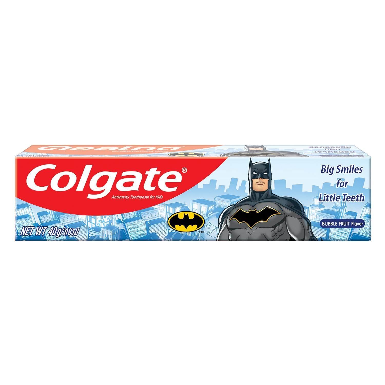 COLGATE ยาสีฟัน คอลเกตแบทแมน สำหรับเด็ก 40 กรัม (ครีม) (Oral,Oral Care,Toothpaste,ยาสีฟัน,ดูแลฟัน,ช่องปาก,สุขภาพฟัน) ของแท้