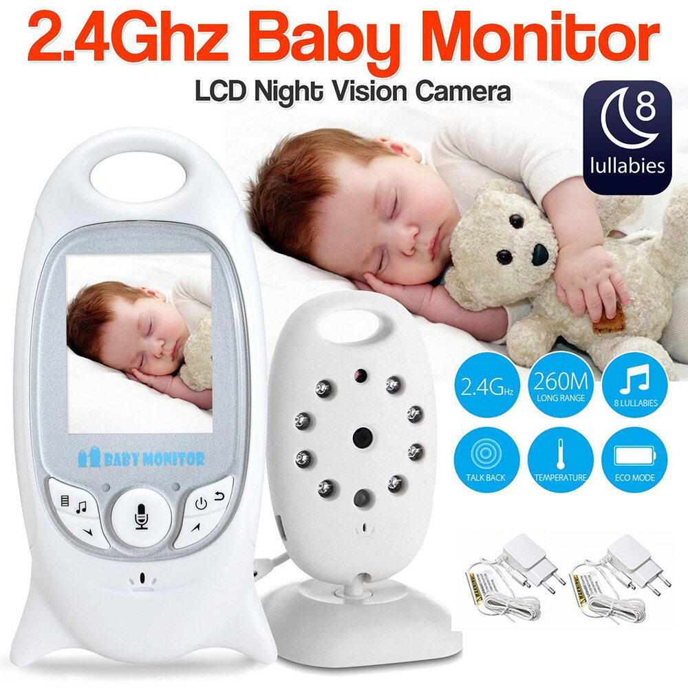 Baby Monitor Camera, Wireless Security Camera for Home, WiFi Pet Camera for Dog and Cat
