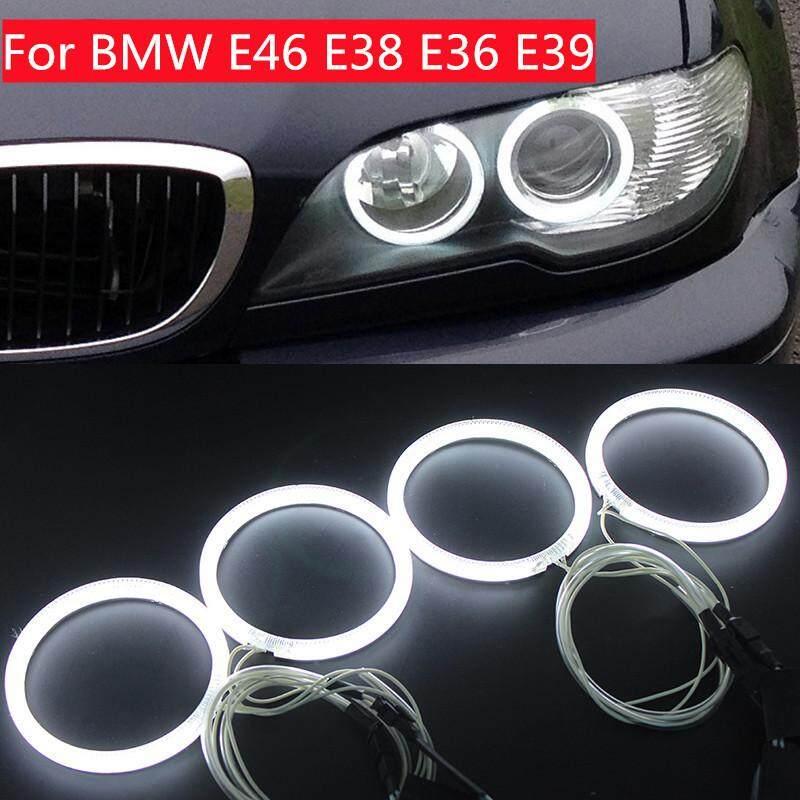 Ge 4pcs Waterproof CCFL Angel Eyes LED Circle 200LM 16W for BMW E46E38 E36 E39 -