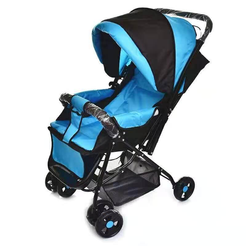 รีวิว รถเข็นเด็ก ปรับได้ 3 ระดับ น้ำหนักเบา รองรับหนัก (นั่ง/เอน/นอน) เข็นได้ทั้งหน้า-หลัง ( ใช้ได้ตั้งแต่แรกเกิด )รุ่น:T9701#