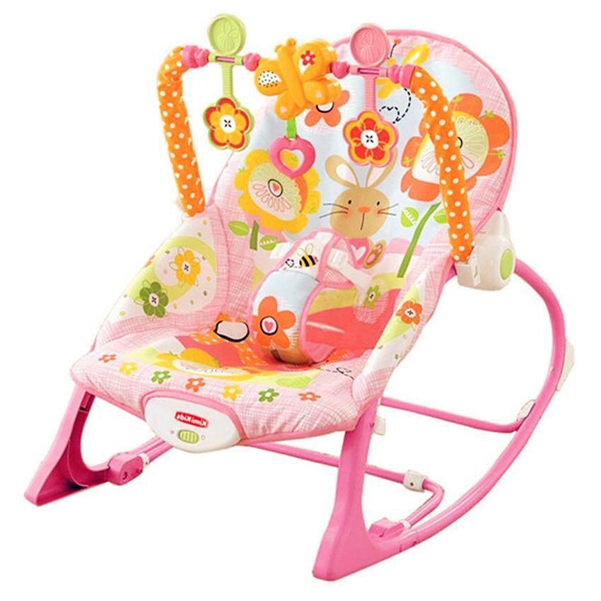 รีวิว Morestech เปลโยก-สั่น มีเสียงเพลง ibaby Infant-to-toddler Rocker สีชมพู