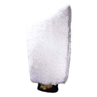 Meguiar's X3002 Microfiber wash mitt ถุงมือฟอกล้าง ชนิดไมโครไฟเบอร์.-