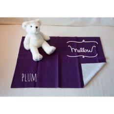 โปรโมชั่น Mellow Quick Dry ผ้ารองกันฉี่ ผ้ารองกันน้ำ 100 Size L 100X140 Cm Plum ใน กรุงเทพมหานคร