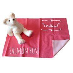 ราคา Mellow Quick Dry ผ้ารองกันฉี่ ผ้ารองกันน้ำ 100 Size M 70X100 Cm Salmon Rose ใหม่