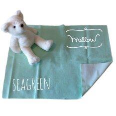 ราคา Mellow Quick Dry ผ้ารองกันฉี่ ผ้ารองกันน้ำ 100 Size S 50X70 Cm Seagreen ใหม่
