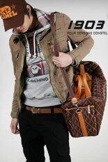 Men Concept กระเป๋าเดินทาง ใบใหญ่ รุ่น In1545 สีน้ำตาล เป็นต้นฉบับ