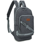 ราคา Men S Bags กระเป๋าแท็บเล็ต Shoulder Tablet Case Bag กระเป๋าใส่พาสปอร์ตเดินทาง กระเป๋าเป้ใบเล็ก สะพายหลัง สำหรับผู้ชาย สี เทาเข้ม ใหม่