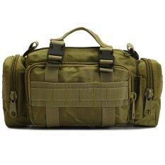 ซื้อ Men S Bags กระเป๋าคาดเอว Waist Bag กระเป๋าจักรยาน Bike Bags กระเป๋าคาดอก Wearlink Bag 3 In 1 Bag สีเขียว Men S Bags