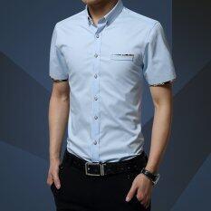 ส่วนลด ชายเสื้อยืดแขนสั้นเสื้อลำลองผู้ชายเสื้อเชิ๊ต M 5Xl Unbranded Generic จีน
