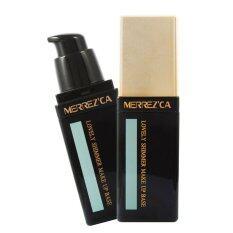 ทบทวน ที่สุด Merrezca Lovely Shimmer Makeup Base Green
