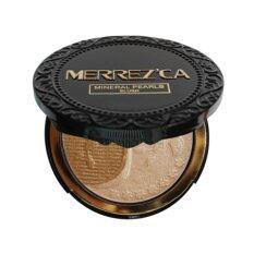 Merrezca Mineral Pearls Blush 301 Highlight Bronzer Merrezca ถูก ใน ไทย
