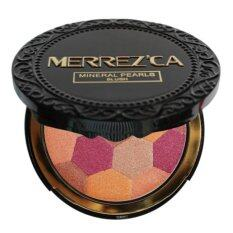 ราคา Merrez Ca Mineral Pearls Blush 302 Double Orange ที่สุด