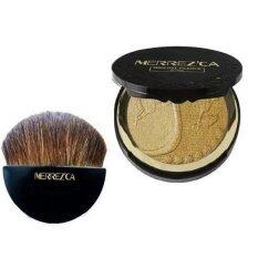 ทบทวน Merrez Ca Mineral Pearls Blush พร้อมแปรง 301 Highlight Bronzer 1 ตลับ Merrez Ca