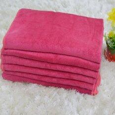 ซื้อ Merryland ผ้าเช็ดตัวนาโน 74X147 ซม รุ่น Nt 010 สีแดง 6 ผืน Merryland