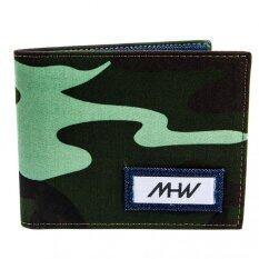 ขาย Mhwstreetwear กระเป๋าสตางค์เดนิม ยีนส์ ลายทหารสีเขียว Mhw Street Wear ออนไลน์