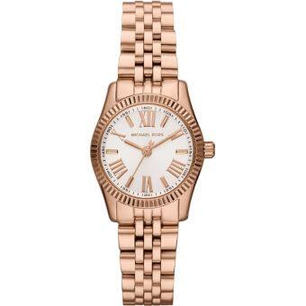 Michael Kors Lexington White Dial Rose Gold-tone Ladies Watch MK3230