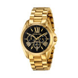 ราคา Michael Kors Mid Size Bradshaw Chronograph Black Dial Gold Tone Ladies Watch Mk5739 ออนไลน์