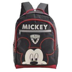 ส่วนลด Mickey Mouse กระเป๋าเป้ กระเป๋านักเรียน สะพายหลัง สีดำ Disney Mickey Mouse Friends ใน ไทย