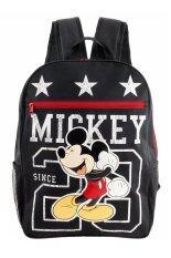 ราคา Mickey Mouse กระเป๋าเป้ กระเป๋านักเรียน สะพายหลัง สีดำ ออนไลน์ ไทย