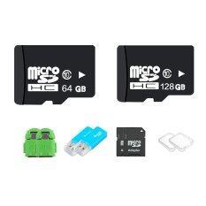 Micro SD 128GB + 64GB Class 10 พร้อมอุปกรณ์เสริม